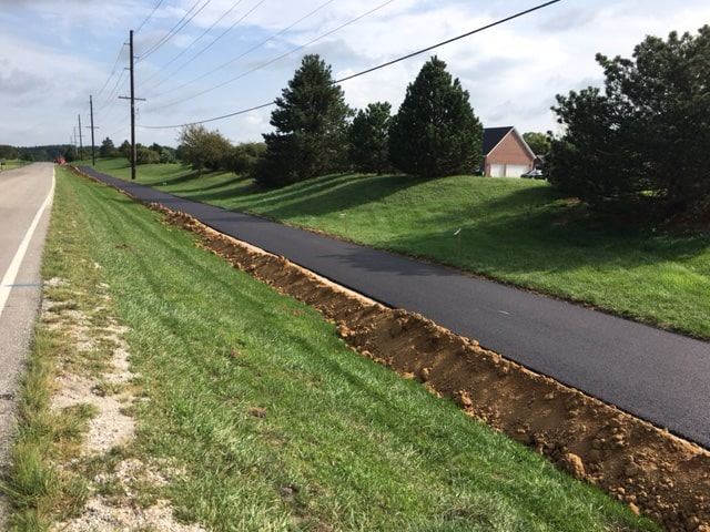 Work is underway on creating 30 miles of multi-use trails in Warrick County