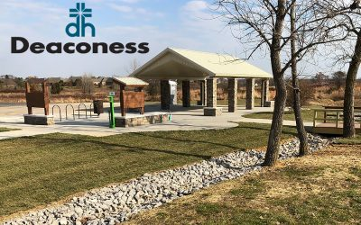 Construction for Deaconess Trailhead at Anderson Road Underway
